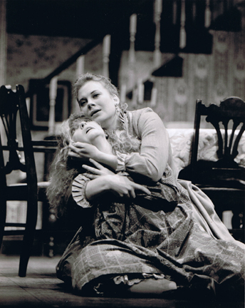 Depiction of a Young Helen Keller (with Tutor), Full of Sound and Fury, Signifying Nothing